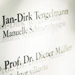 Jan-Dirk Tengelmann - Schmerztherapie Köln